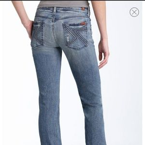 7 For All Mankind 'Flynt' Bootcut Stretch Jean S28